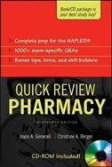 Book Quick Review: Pharmacy, Thirteenth Edition: Pharmacy by Joyce Generali
