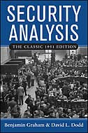 Book Security Analysis: The Classic 1951 Edition: The Classic 1951 Edition by Benjamin Graham