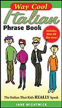 Book Way Cool Italian Phrasebook w/ Audio CD by Jane Wightwick