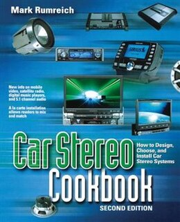Book Car Stereo Cookbook by Mark Rumreich