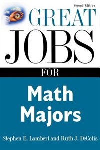 Book Great Jobs for Math Majors, Second ed. by Stephen Lambert