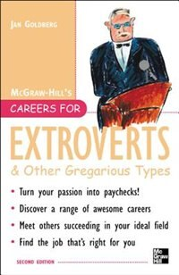 Book Careers for Extroverts & Other Gregarious Types, Second ed. by Jan Goldberg