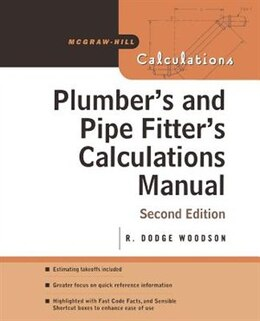 Book Plumber's and Pipe Fitter's Calculations Manual by R. Woodson