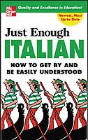 Book Just Enough Italian by D.L. Ellis