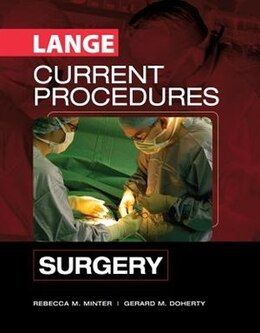 Book CURRENT Procedures Surgery: Surgery by Rebecca Minter