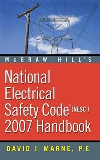 Book National Electrical Safety Code 2007 Handbook by David Marne