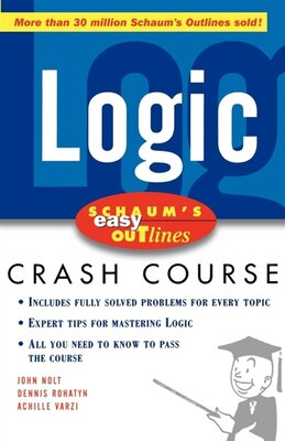 Book Schaum's Easy Outline of Logic by John Nolt