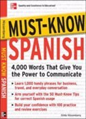 Book Must-Know Spanish: Essential Words For A Successful Vocabulary by Gilda Nissenberg