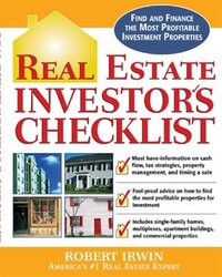 Real Estate Investor's Checklist: Everything You Need to Know to Find and Finance the Most…