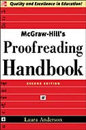 Book McGraw-Hill's Proofreading Handbook by Laura Anderson