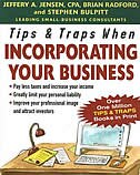 Book Tips & Traps When Incorporating Your Business by Jeffery Jensen