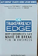 Book The Transparency Edge: How Credibility Can Make or Break You in Business by Elizabeth Pagano