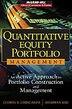 Quantitative Equity Portfolio Management: An Active Approach to Portfolio Construction and…