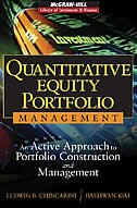 Book Quantitative Equity Portfolio Management: An Active Approach to Portfolio Construction and… by Ludwig Chincarini