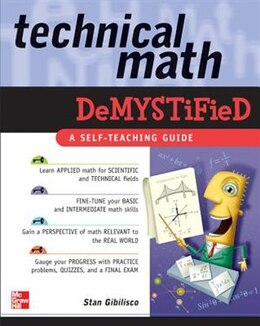 Book Technical Math Demystified by Stan Gibilisco