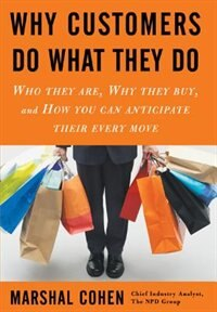 Book Why Customers do What They Do: Who They Are, Why They Buy, and How You Can Anticipate Their Every… by Marshal Cohen