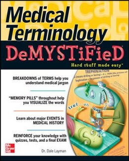 Book Medical Terminology Demystified by Dale Layman