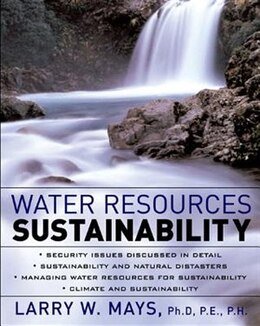 Book Water Resources Sustainability by Larry Mays