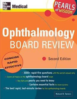 Book Ophthalmology Board Review: Pearls of Wisdom, Second Edition: Pearls of Wisdom, Second Edition by Richard Tamesis