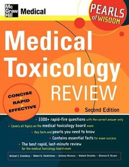 Book Medical Toxicology Review: Pearls of Wisdom, Second Edition: Pearls of Wisdom, Second Edition by Michael Greenberg