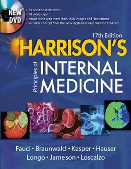 Book Harrison's Principles of Internal Medicine, 17th Edition by Anthony Fauci