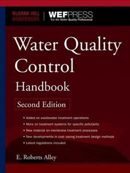 Book Water Quality Control Handbook, Second Edition by E. Alley
