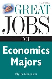 Book Great Jobs for Economics Majors by Blythe Camenson