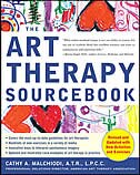Book Art Therapy Sourcebook by Cathy Malchiodi