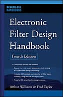 Book Electronic Filter Design Handbook, Fourth Edition by Arthur Williams