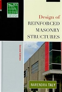 Book Design of Reinforced Masonry Structures by Narendra Taly