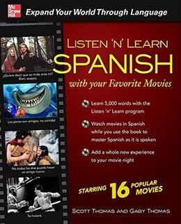 Book Listen 'n' Learn Spanish with Your Favorite Movies by Scott Thomas