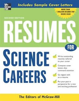 Book Resumes for Science Careers by McGraw-Hill Education
