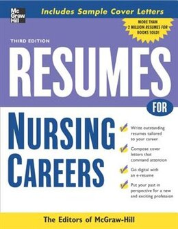 Book Resumes for Nursing Careers by McGraw-Hill Education