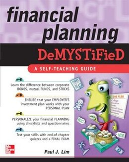 Book Financial Planning Demystified by Paul Lim