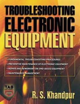 Book Troubleshooting Electronic Equipment by R. Khandpur