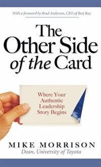 Book The Other Side of the Card: Where Your Authentic Leadership Story Begins by Mike Morrison