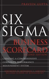 Book Six Sigma Business Scorecard by Praveen Gupta