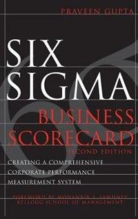 Six Sigma Business Scorecard