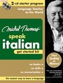 Book Michel Thomas Speak Italian Get Started Kit: 2-CD Starter Program by Michel Thomas