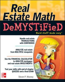 Book Real Estate Math Demystified by Steven P. Mooney