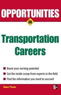 Book Opportunities in Transportation Careers by Adrian Paradis