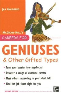 Book Careers for Geniuses & Other Gifted Types by Jan Goldberg