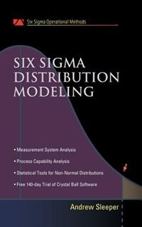 Book Six Sigma Distribution Modeling by Andrew Sleeper