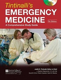Tintinalli's Emergency Medicine: A Comprehensive Study Guide, Seventh Edition (Book and DVD): A…