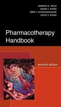 Book Pharmacotherapy Handbook, Seventh Edition by Barbara Wells