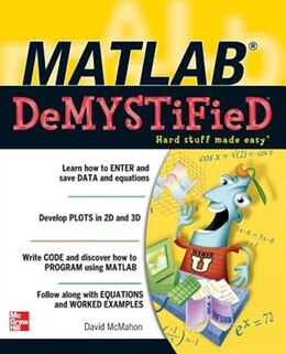 Book MATLAB Demystified by David McMahon