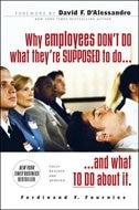 Book Why Employees Don't Do What They're Supposed To and What You Can Do About It by Ferdinand Fournies