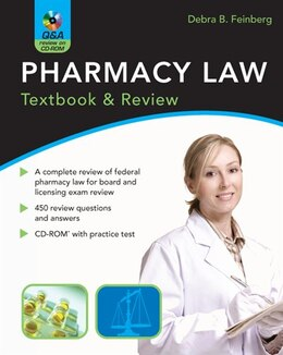 Book Pharmacy Law: Textbook & Review: Textbook & Review by Debra Feinberg