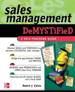 Book Sales Management Demystified by Robert Calvin