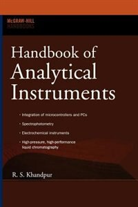 Book Handbook of Analytical Instruments by R S Khandpur